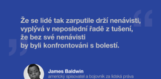 Citát POLITIQ: James Baldwin